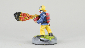 PM NSDC019 Post Apocalyptic Clown Flame Thrower
