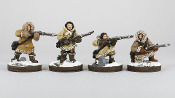 BD BDESK003 Inuit with Rifles